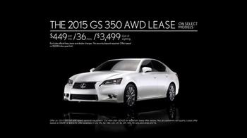 2015 Lexus GS 350 AWD TV Spot, 'In the Desert' - Thumbnail 9