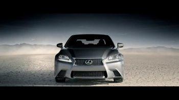 2015 Lexus GS 350 AWD TV Spot, 'In the Desert'