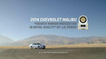 2015 Chevrolet Malibu TV Spot, 'Highest Ranked Midsize Car' - Thumbnail 2