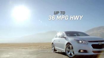 2015 Chevrolet Malibu TV Spot, 'Highest Ranked Midsize Car' - Thumbnail 3