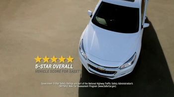 2015 Chevrolet Malibu TV Spot, 'Highest Ranked Midsize Car' - Thumbnail 4