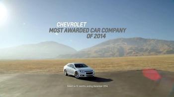 2015 Chevrolet Malibu TV Spot, 'Highest Ranked Midsize Car' - Thumbnail 7
