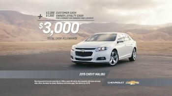 2015 Chevrolet Malibu TV Spot, 'Highest Ranked Midsize Car' - Thumbnail 8