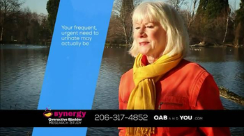 The Synergy Study TV Spot, 'Overactive Bladder' - Thumbnail 2