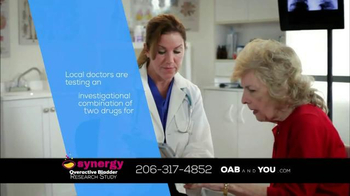 The Synergy Study TV Spot, 'Overactive Bladder' - Thumbnail 4