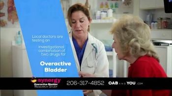 The Synergy Study TV Spot, 'Overactive Bladder' - Thumbnail 6