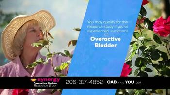 The Synergy Study TV Spot, 'Overactive Bladder' - Thumbnail 7