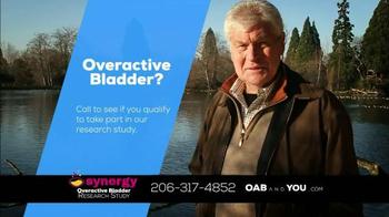The Synergy Study TV Spot, 'Overactive Bladder' - Thumbnail 9