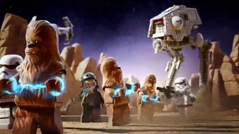 LEGO Star Wars Wookiee Gunship & TIE Advanced Prototype TV Spot, 'Battle'