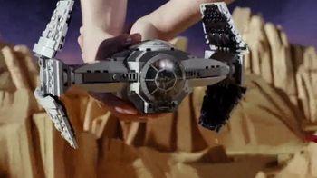 LEGO Star Wars Wookiee Gunship & TIE Advanced Prototype TV Spot, 'Battle' - Thumbnail 6