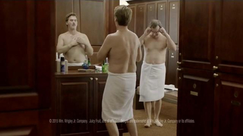Juicy Fruit TV Spot, 'Locker Room Guys Resort to Tasteful Arm Farts' - Thumbnail 2