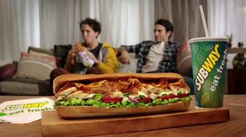 Subway Chicken & Bacon Ranch Melt TV Spot, 'Real World: Skeletons' - Thumbnail 10