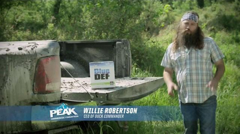 PEAK BlueDEF TV Spot, 'Sort of Obsessed' Featuring Willie Robertson - Thumbnail 1