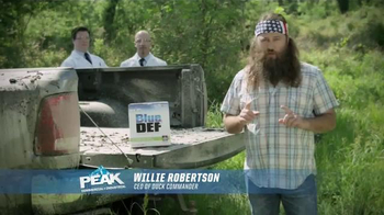 PEAK BlueDEF TV Spot, 'Sort of Obsessed' Featuring Willie Robertson - Thumbnail 2