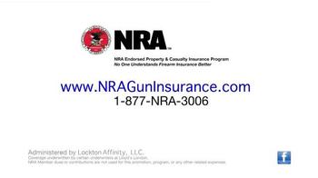 NRA Gun Insurance TV Spot, 'Properly Protected' - Thumbnail 8