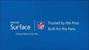 Microsoft Surface TV Spot, 'The Surface of the NFL' - Thumbnail 8