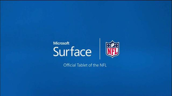 Microsoft Surface TV Spot, 'The Surface of the NFL' - Thumbnail 3