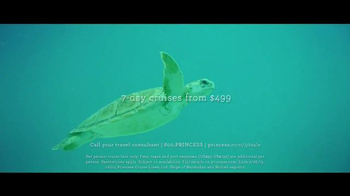 Princess Cruises 50th Anniversary Sale TV Spot, 'Turtles' - Thumbnail 7