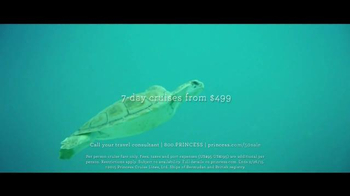 Princess Cruises 50th Anniversary Sale TV Spot, 'Turtles' - Thumbnail 8