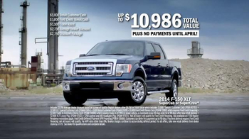 2014 Ford F-150 XLT TV Spot, 'For Every Lifestyle' - Thumbnail 8