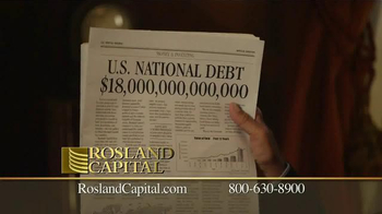 Rosland Capital TV Spot, 'US National Debt: $18 Trillion' - Thumbnail 7
