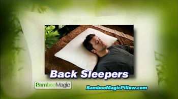 Bamboo Magic Pillow TV Spot - Thumbnail 3