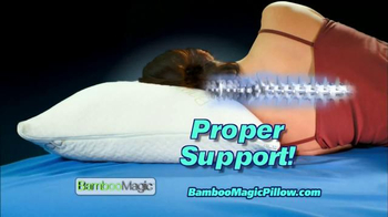 Bamboo Magic Pillow TV Spot - Thumbnail 5