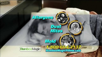 Bamboo Magic Pillow TV Spot - Thumbnail 7