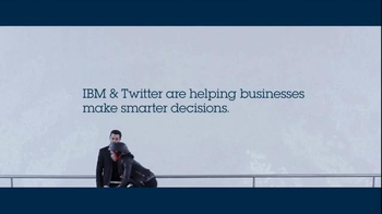 IBM & Twitter TV Spot, 'How Data Can Build a Smarter Business' - Thumbnail 9