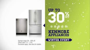 Sears Winter Event TV Spot, 'Load up on Savings' - Thumbnail 6