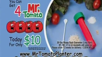 Mr. Tomato Planter TV Spot - Thumbnail 9