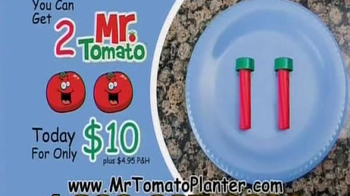 Mr. Tomato Planter TV Spot - Thumbnail 7