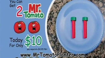 Mr. Tomato Planter TV Spot - Thumbnail 8
