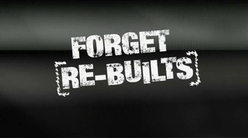 Powertrain Products TV Spot, 'Forget Re-Builts' - Thumbnail 1