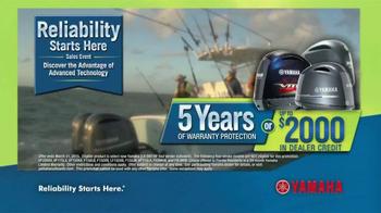 Yamaha Reliability Starts Here Sales Event TV Spot, 'Advanced Technology' - Thumbnail 10