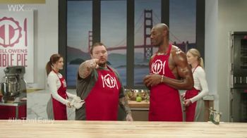 Wix.com Super Bowl Campaign TV Spot, 'See What Terrell Owens is Up to Now'