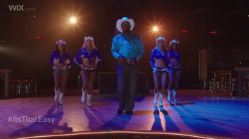 Wix.com Super Bowl Campaign TV Spot, 'Emmitt Smith's Line Dancing Moves' - Thumbnail 3