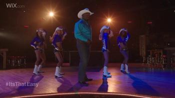 Wix.com Super Bowl Campaign TV Spot, 'Emmitt Smith's Line Dancing Moves' - Thumbnail 4