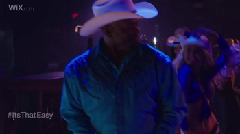 Wix.com Super Bowl Campaign TV Spot, 'Emmitt Smith's Line Dancing Moves' - Thumbnail 5