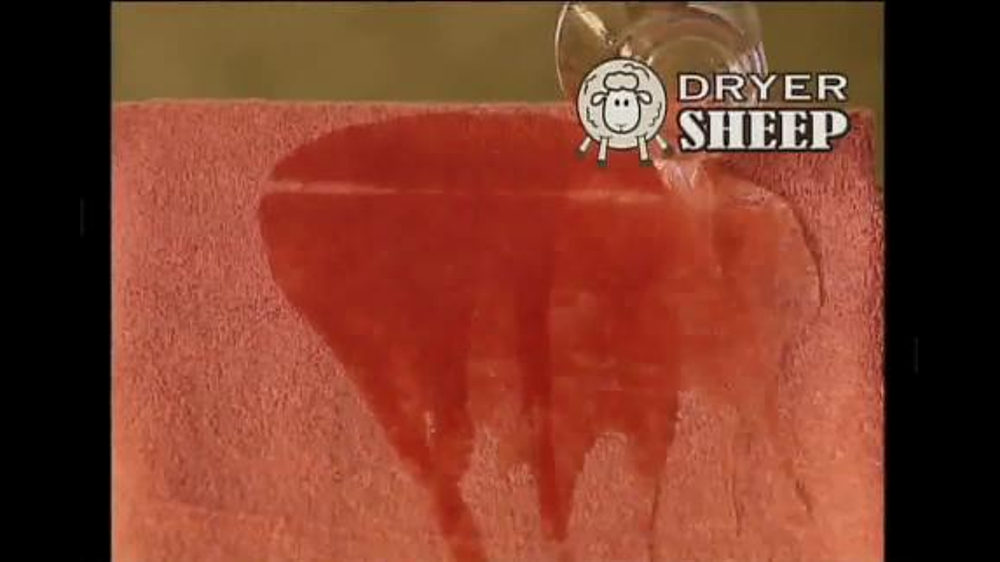 Dryer Sheep Tv Commercial Soften Fabrics Naturally