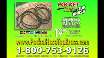 Pocket Hose Top Brass TV Spot, 'A Better Hose'
