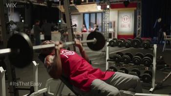 Wix.com Super Bowl Campaign TV Spot, 'Pumping Iron' Feat. Terrell Owens - Thumbnail 1