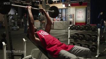 Wix.com Super Bowl Campaign TV Spot, 'Pumping Iron' Feat. Terrell Owens - Thumbnail 2