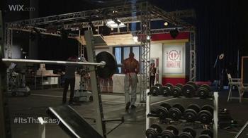 Wix.com Super Bowl Campaign TV Spot, 'Pumping Iron' Feat. Terrell Owens - Thumbnail 5