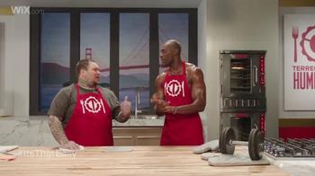 Wix.com Super Bowl Campaign TV Spot, 'Pumping Iron' Feat. Terrell Owens - Thumbnail 7