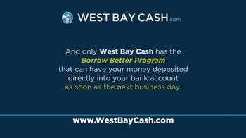 West Bay Cash TV Spot, 'If You Need Cash' - Thumbnail 5