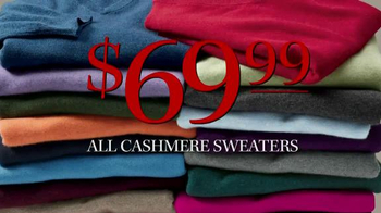 JoS. A. Bank TV Spot, 'Lowest Prices of the Season: Cashmere Sweaters' - Thumbnail 3