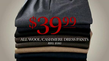 JoS. A. Bank TV Spot, 'Lowest Prices of the Season: Cashmere Sweaters' - Thumbnail 5