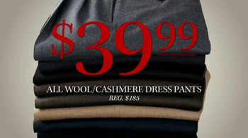 JoS. A. Bank TV Spot, 'Lowest Prices of the Season: Cashmere Sweaters' - Thumbnail 6