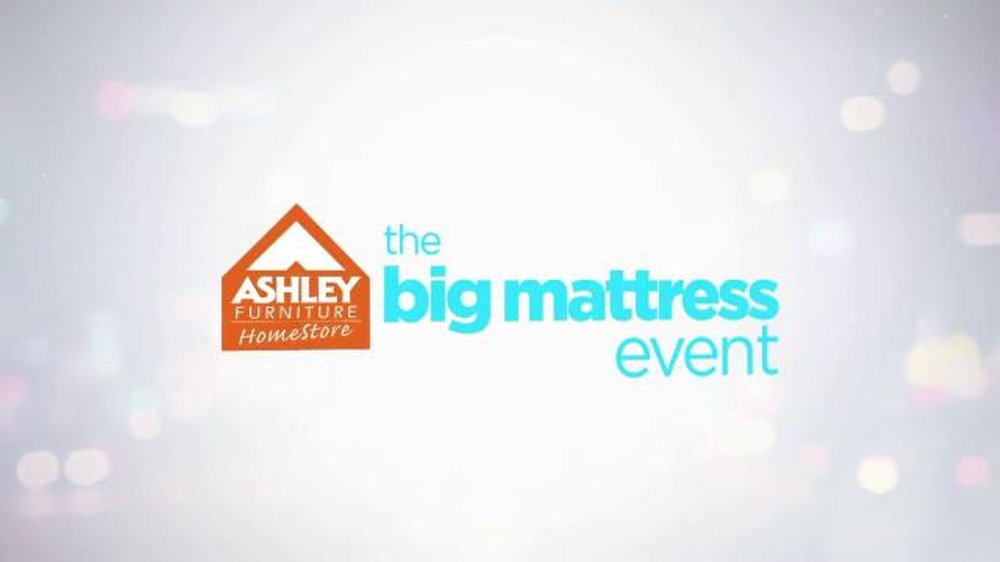 Ashley Furniture Homestore The Big Mattress Event Tv Commercial
